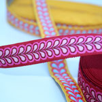 Blätterband - gelb - 15 mm - Design: Franca Tack - Meterware - EUR 2,50/m