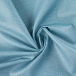 besch. Baumwolle - LUISA - uni hellblau (jeansblau :))