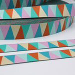 Triangle Spring No. 1 - pastell in rosa, hellgrün, mint, orange + gelb - Design: luzia pimpinella 2014 - 15 mm breit - EUR 1,60/m