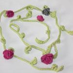 Wickelkette ... als Kette tragbar oder als Gürtel oder als Armband oder Stirnband oder oder :))))