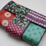 besch. feste Baumwolle - Echino mit Riegel & Magnetverschluss