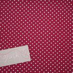 Baumwolle Au Maison: Design: Dots - Farbe: cherry (kirschrot)