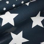 besch. Baumwolle Au Maison (PVC): STAR GIANT - Sterne GIANT midnight blue / dunkelblau  ... z. Zt. nur für Anfertigungen verfügbar