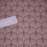 besch. Baumwolle (PVC) Au Maison - ALLI - powder rose / ginger red