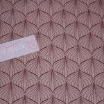besch. Baumwolle AU Maison - ALLI - powder rose / ginger red