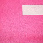 besch. Baumwolle - Luisa - UNI pink