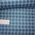besch. Baumwolle - STAARS von Farbenmix in JEANSBLAU :)  - AUSVERKAUFT