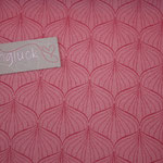 Baumwolle Au Maison - ALLI raspberry / peachy pink
