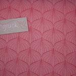 Baumwolle Au Maison - Design: ALLI - Farbe: raspberry / peachy pink - AUSVERKAUFT