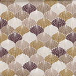 COMING SOON: besch. Baumwolle AU Maison - Design: Alli - Farbe: mustard / woodrose