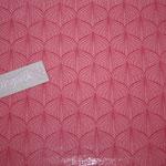besch. Baumwolle (PVC) Au Maison - ALLI - raspberry / peachy pink  - METERWARE