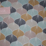 besch. Baumwolle AU Maison - Design: Alli - Farbe: mustard