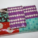 besch. feste Baumwolle - Echino ... mit Magnetknopf-Verschluss-Riegel