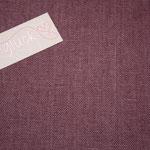 besch. Leinen Au Maison - Farbe: ginger red .. ein dezentes weinrot
