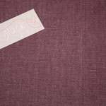 besch. Leinen AU Maison - Farbe: ginger red .. ein dezentes weinrot  RESTMENGE 04-21