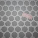 Coated Fabric - Super dot - grey / light grey - Au Maison - Meterware