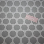 Coated Fabric - Super dots - grey / light grey - Au Maison - AUSVERKAUFT
