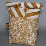 NOCH ZU HABEN: besch. Baumwolle von Au Maison: Henri & Caroline - senfgelb / nautur