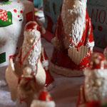 handgefertigte Ton-Weihnachtsmänner von Annette