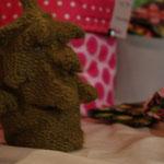 nähglück gestrickter + gefilzter Tannenbaum ... in meiner Freizeit ;0) angefertigt