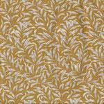besch. Baumwolle AU Maison - Design: Olivia - Farbe: mustard RESTMENGE