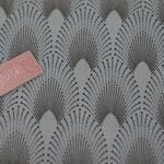 besch. Baumwolle (PVC) Au Maison - Chrysler - dusty turquoise - METERWARE