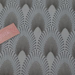 besch. Baumwolle AU Maison - Chrysler - dusty turquoise