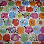besch. Baumwolle (Acryl) - Wendelin Äpfel multi