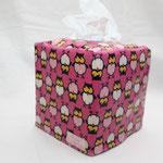 besch. Baumwolle - Eulchen pink NOCH ZU HABEN d2