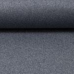 besch. Baumwolle (Acryl) - Mikesh - GLITZER-GLIMMER - rauchblau :) RESTMENGE ca. 70 cm