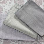 Platzset - oldrose + linen + linen grey