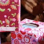 nähglück - Hüllen für Kosmetiktücher-Boxen