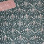 besch. Baumwolle (PVC) Au Maison - Alli - antique green - METERWARE