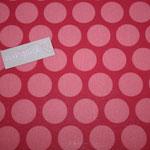 besch. Baumwolle (PVC) Au Maison - Super Dot - raspberry / peachy pink - RESTMENGE !!!