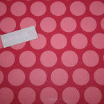 besch. Baumwolle AU Maison - Super Dots - raspberry / peachy pink