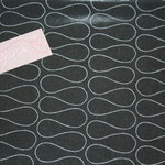 besch. Baumwolle (PVC) Au Maison - OMNIA - black