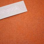 """besch. Baumwolle-Leinen - uni orange .. KEIN strahlendes orange, sondern """"hermes orange"""""""