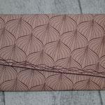 COATED besch. Baumwolle - ALLI - powder rose / ginger red mit Magnetverschluss - NOCH VERFÜGBAR :)