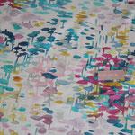 beschichtete Baumwolle (Acryl) - FdS - Reflexion - weißgrundig  AUSVERKAUFT :/