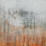 DER VORHANG ZERRISS 180x190cm Pigmente auf Leinwand