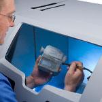 3D Druck entpulvern ZPrinter