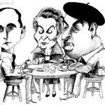 Huidobro, Mistral y Neruda