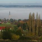 Dingolfing im Nebel