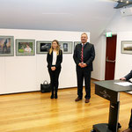 Geladene Ehrengäste 1. Bürgermeister Herr Pellkofer und 3. Landrätin Frau Wälischmiller