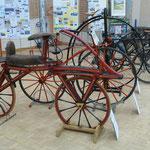 Exposition de vieux vélos