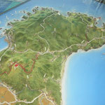 男鹿半島模型
