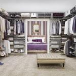 Regalsystem für Ankleidezimmer