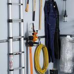 Haken für Leiter und Werkzeug
