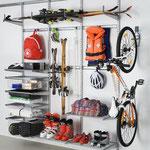 Regalsystem Garage, Sport und Freizeit
