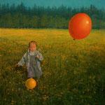 Das Erlebnis, 60 x 50 cm, 1996